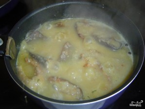 Линь в сметанном соусе - фото шаг 6