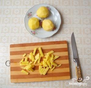 Запеченные свиные ребрышки с овощами - фото шаг 2