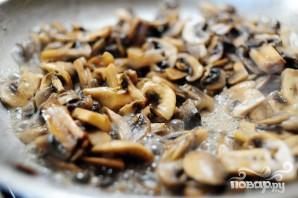 Кассероль из курицы, спагетти и грибов - фото шаг 2