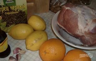 Маринад для шашлыка из свинины - фото шаг 1