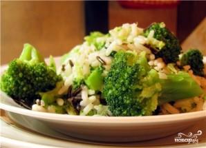 Рис с брокколи - фото шаг 8