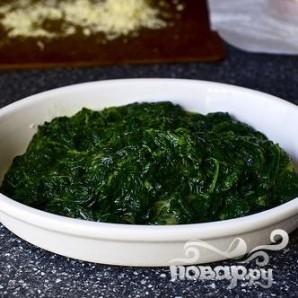 Запеченный шпинат с сыром - фото шаг 4