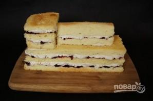 """Торт """"Паровоз"""" - фото шаг 2"""