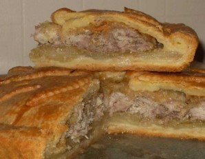 Расстегай с картошкой и мясом - фото шаг 5