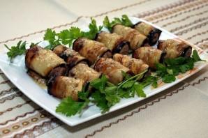 Печень с баклажанами - фото шаг 10