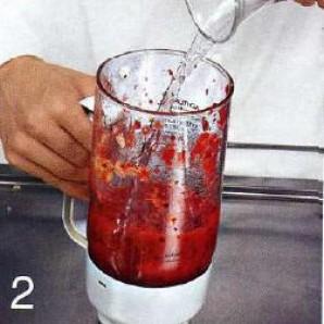 Ягодный коктейль - фото шаг 2