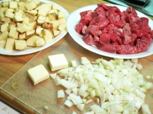Суп-рагу с говядиной - фото шаг 1