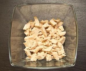 Салат с курицей и грибами - фото шаг 3