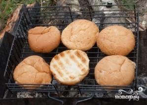 Гамбургеры на мангале - фото шаг 2