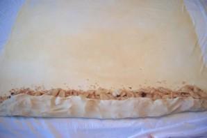 Штрудель с яблоками из лаваша - фото шаг 3