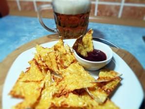 Домашние чипсы из лаваша - фото шаг 7