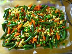 Паэлья овощная - фото шаг 3