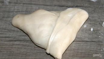 Самса узбекская слоеная с мясом - фото шаг 6