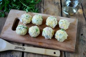 Картофельные шарики во фритюре - фото шаг 3