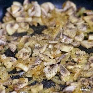 Омлет с грибами - фото шаг 3