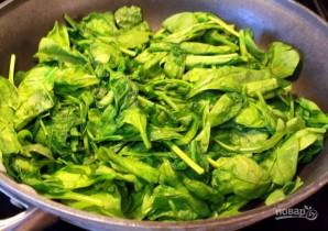 Яичница со шпинатом в духовке - фото шаг 1