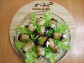 Жареные баклажаны с начинкой - фото шаг 11