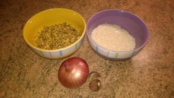 Рис с чечевицей - фото шаг 1