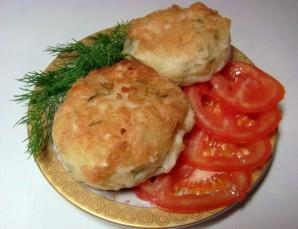 Картофельные зразы с курицей - фото шаг 7