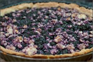 Пирог со смородиной и творогом - фото шаг 7