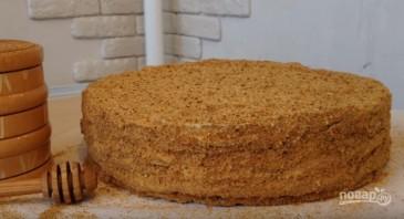 """Торт """"Медовик"""" (Рыжик) - фото шаг 15"""