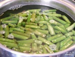 Салат из фасоли стручковой - фото шаг 3