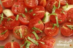 Паста с запеченными помидорами и спаржей - фото шаг 1