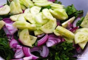 Вкусный салат из кальмара - фото шаг 2
