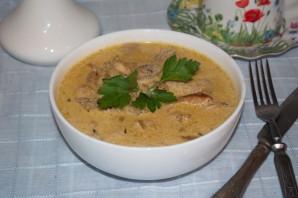 Мясо под сливочным соусом - фото шаг 7