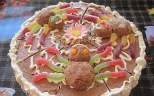 Торт на день рождения мальчику 5 лет - фото шаг 8