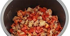 Суп с мясом в мультиварке - фото шаг 6