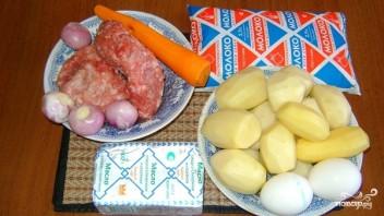 """Картофельная запеканка с фаршем в мультиварке """"Редмонд"""" - фото шаг 1"""