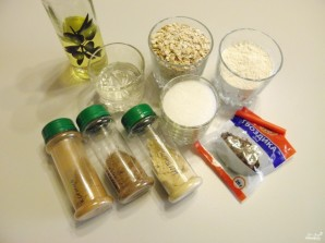 Постное овсяное печенье - фото шаг 1