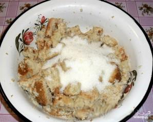 Запеканка из черствого хлеба - фото шаг 3