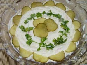 Салат из печени куриной слоями - фото шаг 12