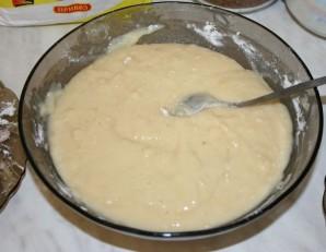 Бисквитный торт с желе - фото шаг 1