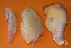 Куриные крылышки в пиве - фото шаг 1