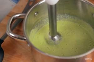 Вкусный сливочный крем-суп с брокколи - фото шаг 3
