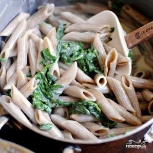 Паста с соусом из голубого сыра - фото шаг 5