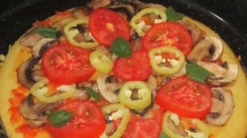 Пицца без дрожжей на молоке - фото шаг 4