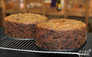 Английский рождественский пирог с коньяком - фото шаг 8