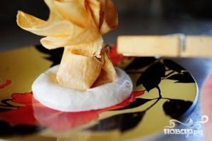 Блинчики с персиковой начинкой - фото шаг 5