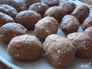 Шоколадная картошка из печенья - фото шаг 5
