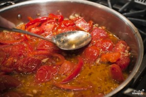 Паста с помидорами и чесноком - фото шаг 8