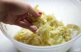 Салат из кабачков и орехов - фото шаг 3