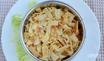 Салат из блинов - фото шаг 6