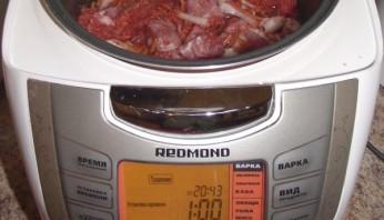 Шашлык из свинины в мультиварке - фото шаг 5