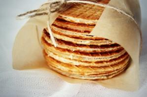 Голландские вафли с карамелью - фото шаг 9