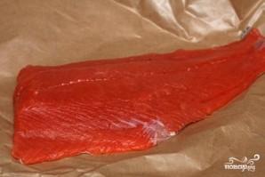 Запеченный лосось в гранатовом соусе - фото шаг 1
