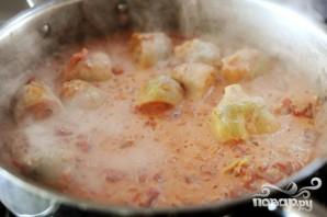 Спагетти с овощами - фото шаг 9
